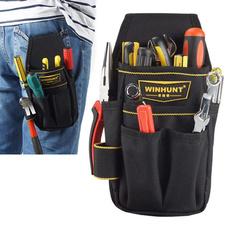 waistpocketpouchbelttoolstorageholder, Fashion, electriciantoolbagwaistpocket, Waist