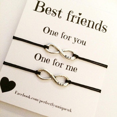 Gifts For Her, Charm Bracelet, Infinity, Jewelry