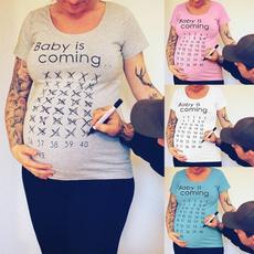 cute, Plus size top, Cotton T Shirt, letter print
