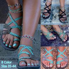 bohemia, beach shoes, Outdoor, flipflopssandal
