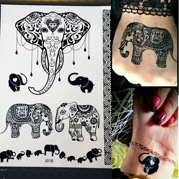 Design, tattoo, elephanttattoo, ganesha