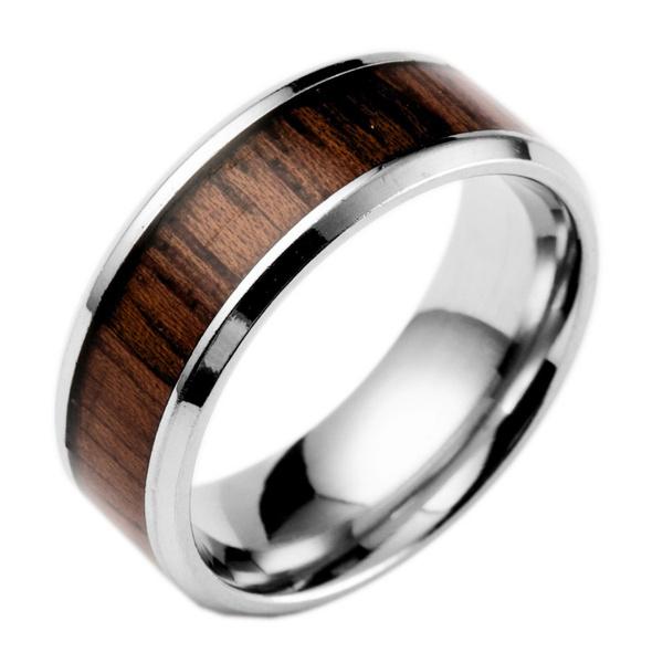 blackgoldring, Steel, Fashion, wedding ring