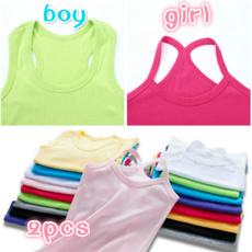 Summer, Underwear, solidcolorcottontop, Tank