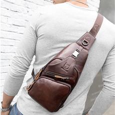 Shoulder, Bolsos al hombro, Moda masculina, Genuine