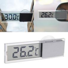 suctionthermometer, lcddigitaldisplay, temperaturegauge, indooroutdoorthermometer