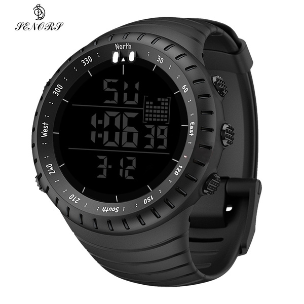 Outdoor, silicone watch, Gifts, Outdoor Sports