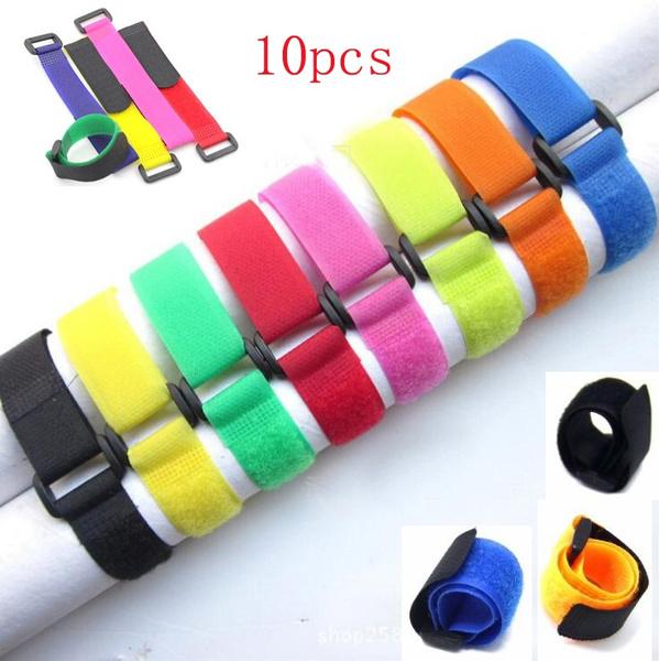 Non-slip Holder Strap Fishing Rod Tie Hook Loop Cables Suspenders Fastener