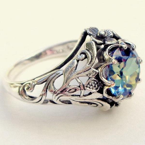 Antique, rainbow, DIAMOND, Jewelry