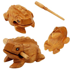 Wood, Toy, Musical Instruments, Frog
