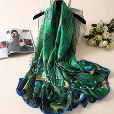 peacock, Fashion, Towels, Soft