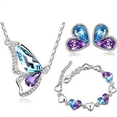 butterfly, Fashion, Jewelry, Earring