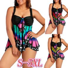 butterflyprint, butterfly, Plus Size, Womens Swimsuit