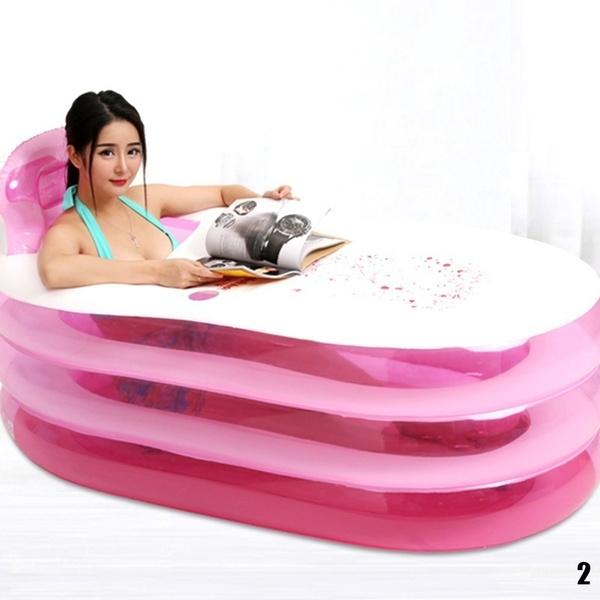 portable, Inflatable, Bath, Pvc