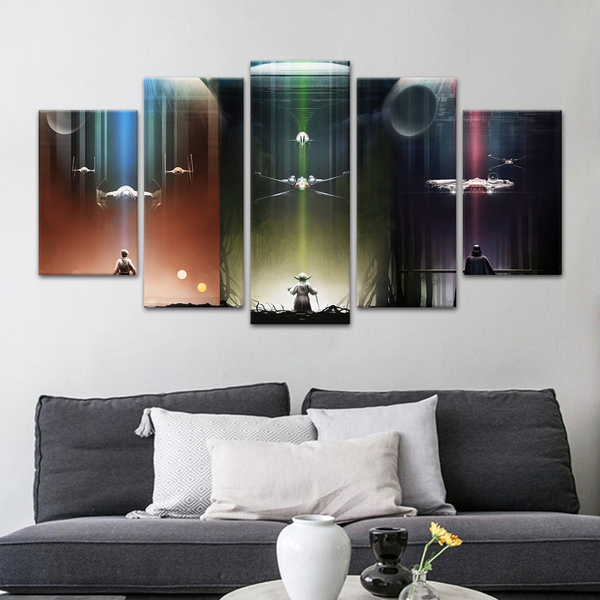 Star, Wall Art, canvaspainting, Posters