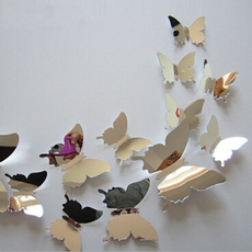 butterfly, Home & Kitchen, Decor, 12pclot