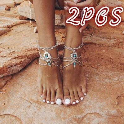 charmanklet, Sandals, Anklets, Chain