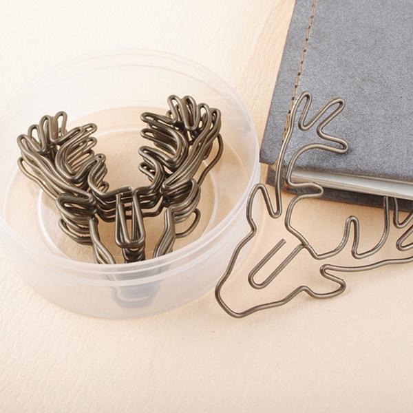 Office, Clip, Bookmarks, Deer