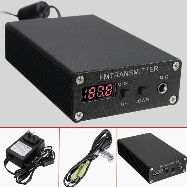 Mini, Transmitter, fmbroadcasttransmitter, radioequipment