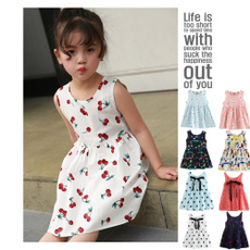 Summer, girls dress, Necks, Gifts