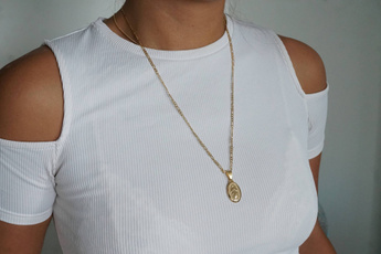 goldplated, 18k gold, Christian, Jewelry