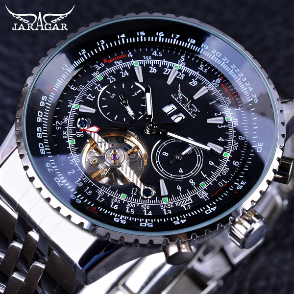 Steel, multifunctionalwatch, dial, Stainless