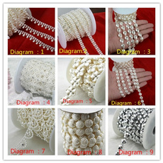 Sewing, Jewelry, Chain, pearls