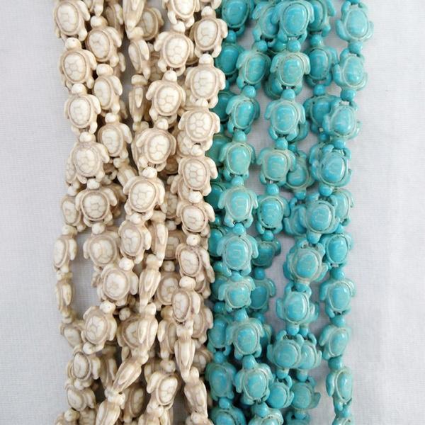 necklacebead, Turtle, Turquoise, charmbead