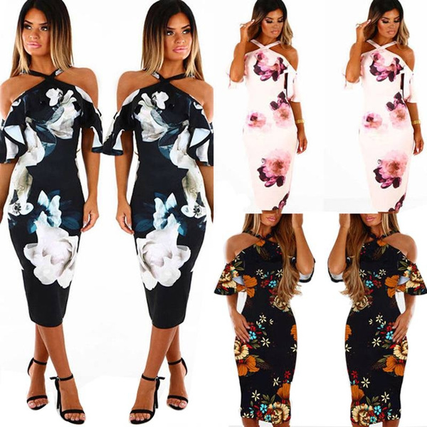 Summer, Fashion, Halter, sundress