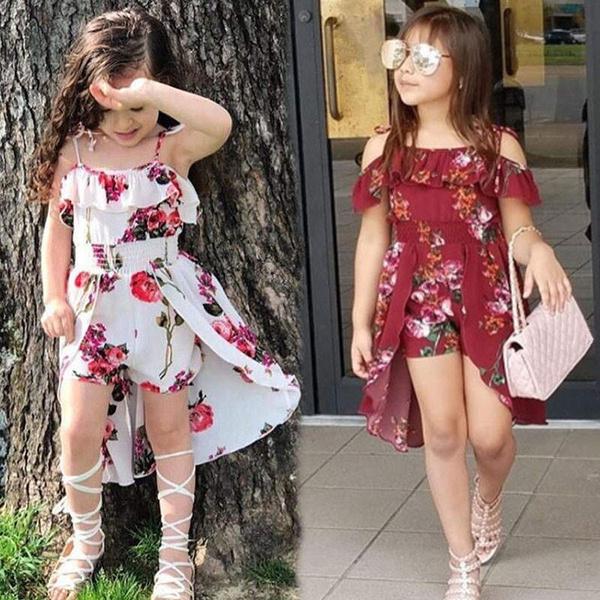 Summer, Fashion, children's clothing, Dress