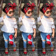 kids, Fashion Boutique, Flowers, Shirt