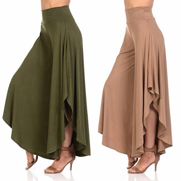 bellbottomedpant, Plus Size, culotte, pants