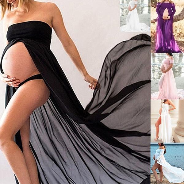 Maternity Dresses, women sexy dress, strapless, Fashion