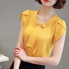 blouse, Plus Size, Chiffon top, Shirt