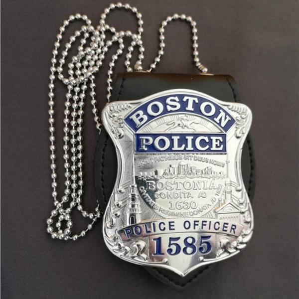 Copper, cia, policebadge, Chain