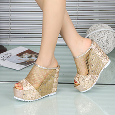 Summer, Fashion, Hollow-out, Womens Shoes