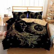 King, bedclothe, duvet, Sun