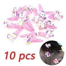 unicornhairclip, hairornament, Animal, headwear