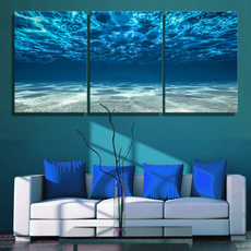 Blues, Decor, Modern, Wall Art