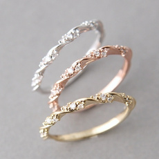 DIAMOND, Gifts, gold, Silver Ring