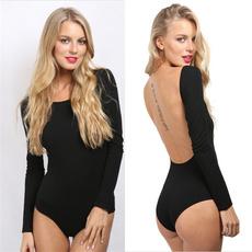 Summer, black, Fashion, Sleeve