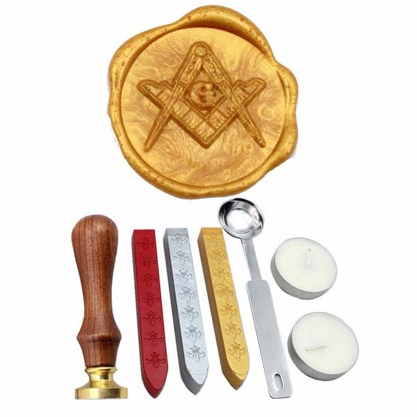 waxseal, waxstamp, Vintage, Gifts