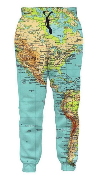 Women Pants, joggingpant, Fashion, 3dpant