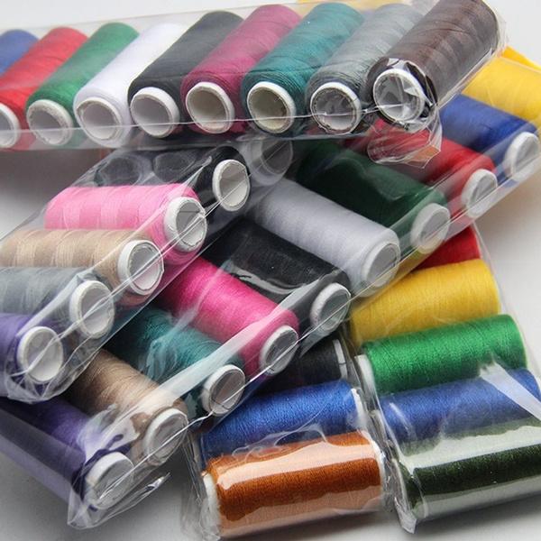 multcolor, fabricthread, embroiderythread, Colorful