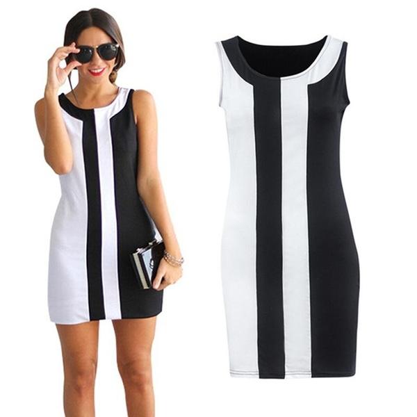 slim dress, Fashion, white, short dress