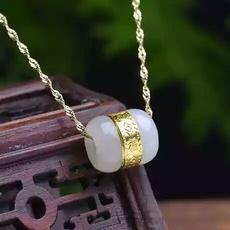 Jewelry, gold, jade, Bracelet
