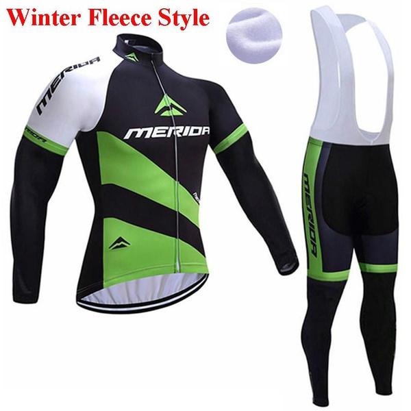 Fleece, Set, Cycling, Winter