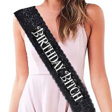 Fashion, Lace, black lace, birthdayparty