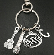 initial, Key Chain, Jewelry, Gifts