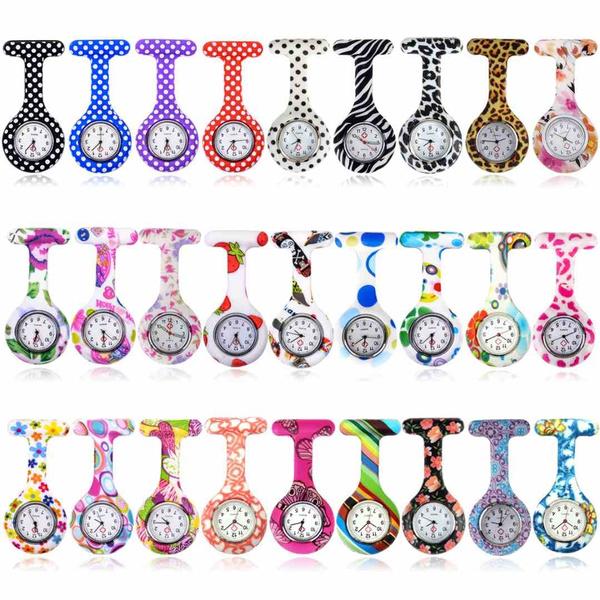 womennursewatch, quartz, Colorful, nursesiliconewatch