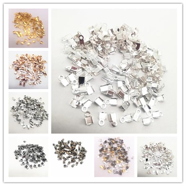 foldoverclaspcrimpbead, Jewelry, cordendtip, Connector